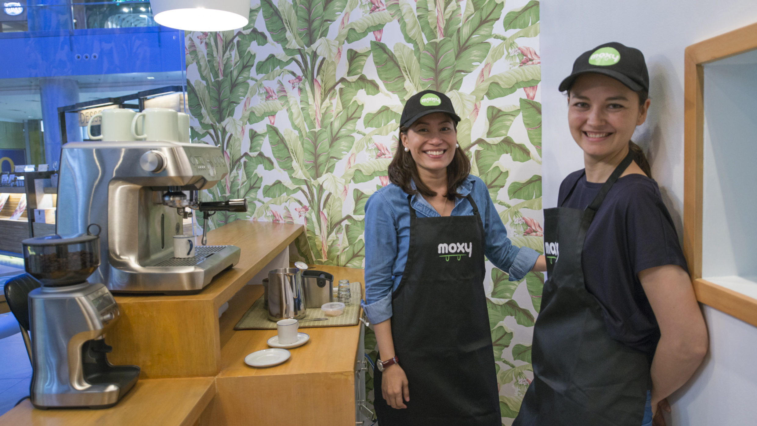 Rica and Michelle Of Moxy Cafe