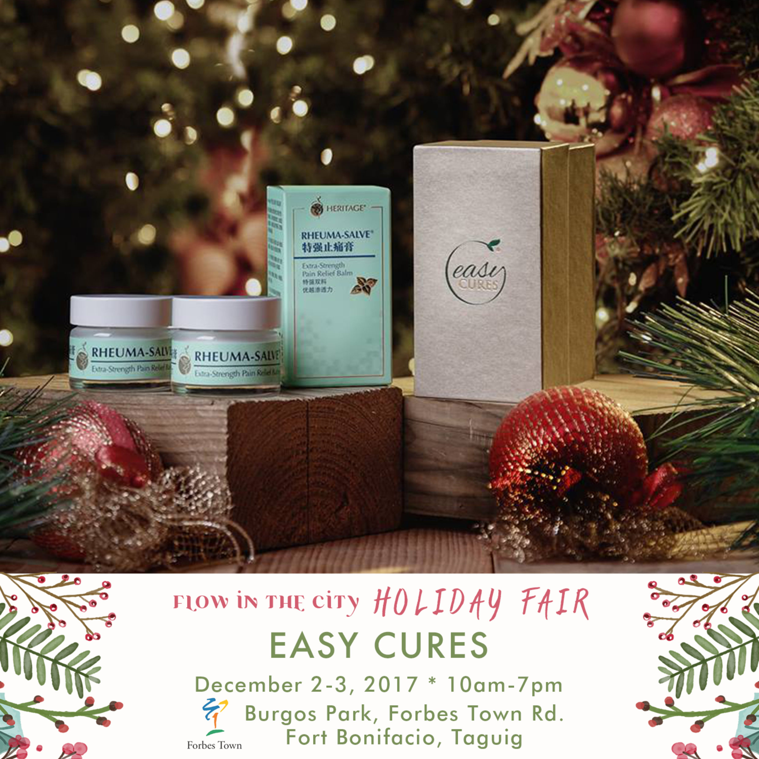 Healthy Gifts From Easy Cures At Flow In The City Holiday Fair